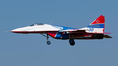 30 - Mikoyan-Gurevich MiG-29UB Fulcrum - Russia - Air Force