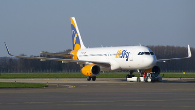 YR-BEE - Airbus A320-232 - HiSky