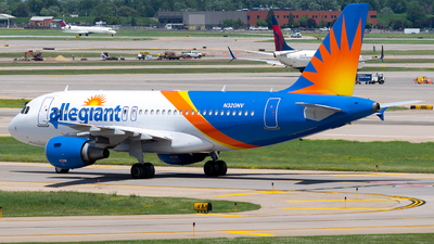 N320NV - Airbus A319-111 - Allegiant Air