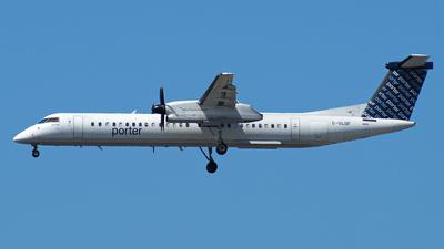 A picture of CGLQF - De Havilland Canada Dash 8400 - Porter Airlines - © Peter Kesternich