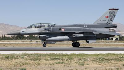 07-1017 - Lockheed Martin F-16D Fighting Falcon - Turkey - Air Force