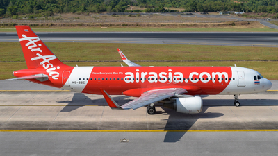 A picture of HSBBG - Airbus A320216 - AirAsia - © Alexander Listopad