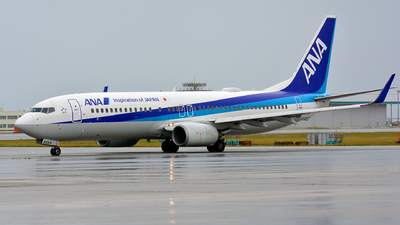 JA65AN - Boeing 737-881 - All Nippon Airways (ANA)