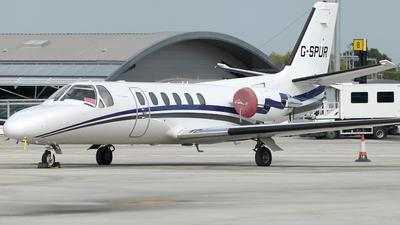 G-SPUR - Cessna 550 Citation II - Private