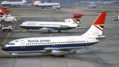 PH-TVH - Boeing 737-222 - British Airways