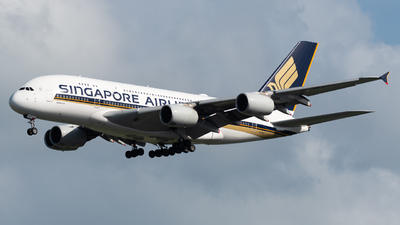 A picture of 9VSKZ - Airbus A380841 - Singapore Airlines - © Kyan Ooi Ting Yi