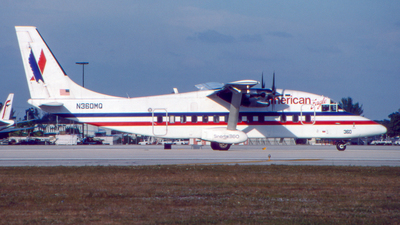 N360MQ - Short 360-200 - American Eagle (Executive Airlines)
