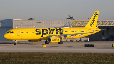 N672NK - Airbus A321-231 - Spirit Airlines