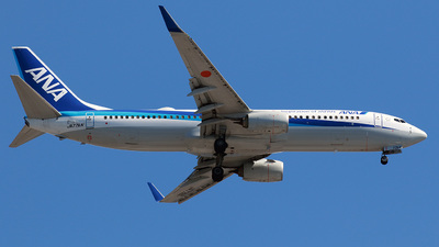 JA77AN - Boeing 737-881 - All Nippon Airways (ANA)