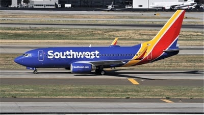 N204WN - Boeing 737-7H4 - Southwest Airlines