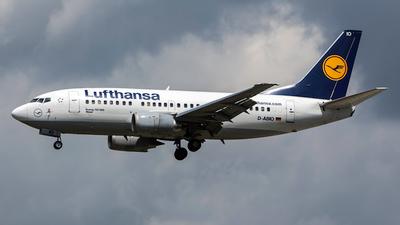 D-ABIO - Boeing 737-530 - Lufthansa