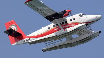 8Q-MAP - De Havilland Canada DHC-6-300 Twin Otter - Trans Maldivian Airways