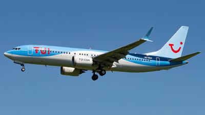 OO-MAX - Boeing 737-8 MAX - TUI