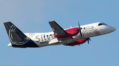 N415XJ - Saab 340B+ - Silver Airways
