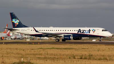 A picture of PRAUK - Embraer E195AR - Azul Linhas Aereas - © TLBorges