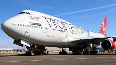 A picture of GVLIP - Boeing 747443 - [32338] - © Javier Rodriguez - Amics de Son Sant Joan