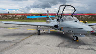 FAC2126 - Cessna T-37B Tweety Bird - Colombia - Air Force