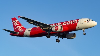 A picture of 9MAQG - Airbus A320216 - AirAsia - © Alexander Listopad