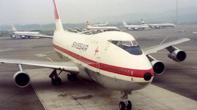 HB-IGA - Boeing 747-257B - Swissair