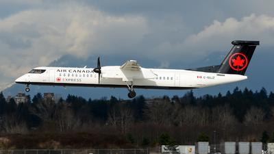 A picture of CGUJZ - De Havilland Canada Dash 8400 - Air Canada - © Chung Kwok