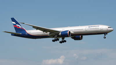 A picture of VQBQB - Boeing 7773M0(ER) - Aeroflot - © AKH