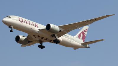 A picture of A7BCO - Boeing 7878 Dreamliner - Qatar Airways - © Sander in West-Africa