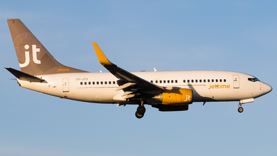 OY-JTS - Boeing 737-7K2 - Jettime