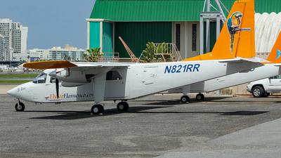 A picture of N821RR - BrittenNorman BN2A9 Islander - Air Flamenco - © Juan Carlos Aponte