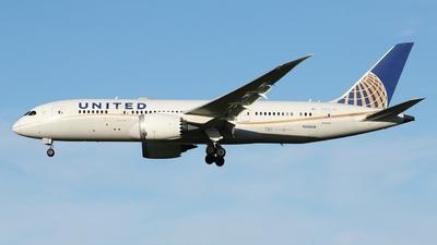 A picture of N26909 - Boeing 7878 Dreamliner - United Airlines - © André Klöckner