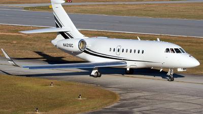 N421SC - Dassault Falcon 2000LX - Private