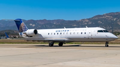 N871AS - Bombardier CRJ-200ER - United Express (SkyWest Airlines)