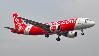 A picture of RPC3228 - Airbus A320214 - AirAsia - © whiskey_india_charlie_oscar