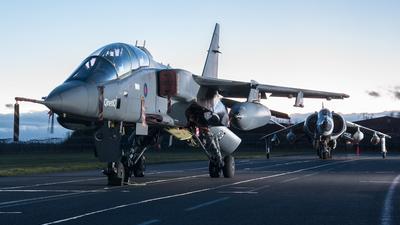 XX833 - Sepecat Jaguar T.2A - United Kingdom - Royal Air Force (RAF)