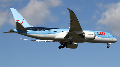 A picture of GTUIF - Boeing 7878 Dreamliner - TUI fly - © Jeroen Stroes