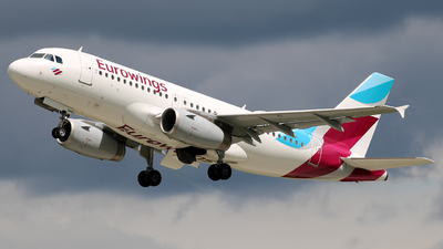 A picture of DAGWX - Airbus A319132 - Eurowings - © Dominik  Hermann