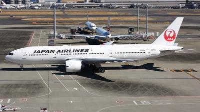 A picture of JA711J - Boeing 777246(ER) - Japan Airlines - © JMA0705