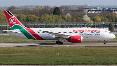 A picture of 5YKZB - Boeing 7878 Dreamliner - Kenya Airways - © Charles Cunliffe