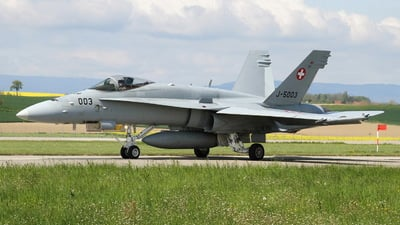 J-5003 - McDonnell Douglas F/A-18C Hornet - Switzerland - Air Force