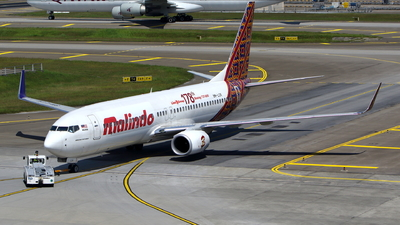 9M-LCK - Boeing 737-8GP - Malindo Air
