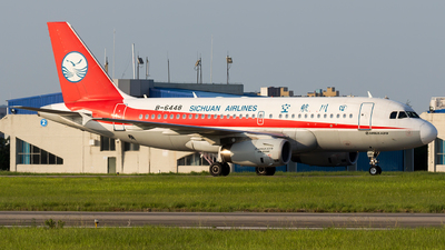 B-6448 - Airbus A319-133 - Sichuan Airlines