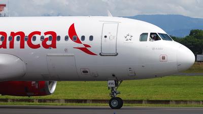 N496TA - Airbus A320-233 - Avianca Central America