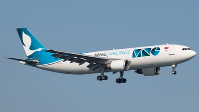 TC-MCE - Airbus A300B4-605R(F) - MNG Airlines