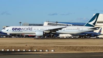 B-KQN - Boeing 777-367ER - Cathay Pacific Airways