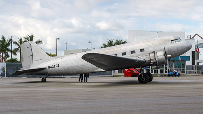 N437GB - Douglas DC-3C - Atlantic Air Cargo