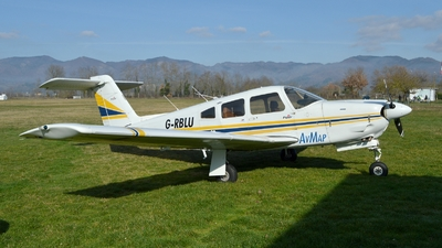 G-RBLU - Piper PA-28RT-201T Turbo Arrow IV - Private