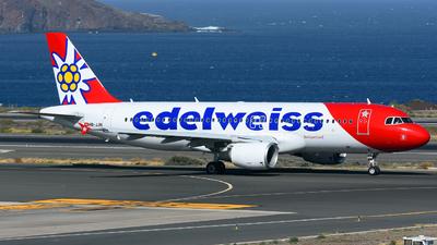 HB-JJN - Airbus A320-214 - Edelweiss Air