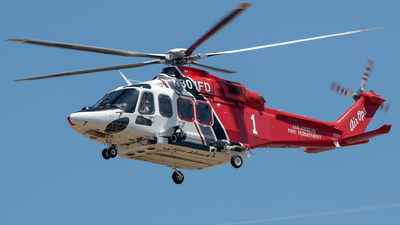 N301FD - Agusta-Westland AW-139 - United States - Los Angeles City Fire Department