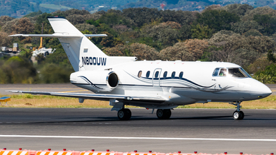 N800UW - Hawker Beechcraft 800XP - Private
