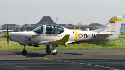 LD-1208 - Grob G120TP - Indonesia - Air Force