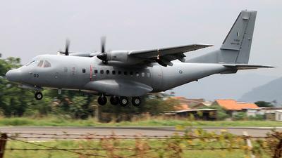 M44-03 - IPTN CN-235-220 - Malaysia - Air Force